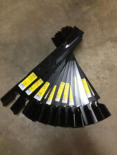 "12 -PACK LAWN MOWER BLADES FITS 60"" TORO Z Master 60"" 105-7718-03 , 103-2530"