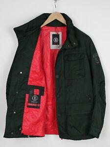 BOGNER FIRE + ICE Men EU 50 or ~LARGE Hidden Hood Work Parka Jacket 37236_GS