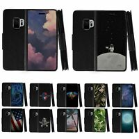 For Samsung Galaxy S9 G960 Leather Flip Wallet Case Stand Cover w/ Card Slots