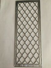 Unbranded Slimline Faux Wood Embossed Chicken Wire Die*Free Shipping!