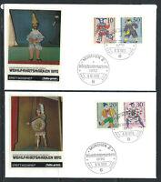"Allemagne RFA - 06/10/1970 FDC - Jeunesse ""Marionnettes"""