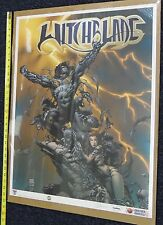 Witchblade Darkness Print Signed Nelson Top Cow Another Universe F
