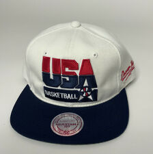 Mitchell & Ness USA Basketball Dream Team 1992 Mens Adjustable Snapback Hat NEW