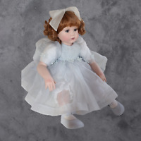 """MARIE OSMOND """"ANGIE"""" PORCELAIN TODDLER DOLL LIMITED EDITION 375/500 RARE"""