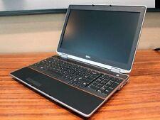 """Dell Latitude E6520 Laptop Windows 7 Quad Core i7 8GB 250GB HD HDMI 15.6"""" Win 7"""