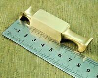 7.7 cm Long 1x Solid Brass Bolster Finger Guard/Bolster for Knife Making (031