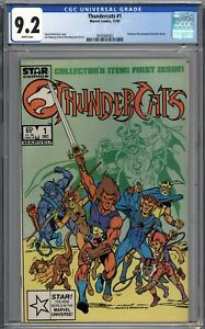 Thundercats #1 CGC 9.2 NM- 1st Printing WHITE PAGES