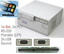 Compact Computer Isa Slot Windows 95 1,2GHZ 256 MB 2x USB Rs 232 Lan Lpt #W31
