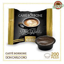 200 Capsule Caffè Borbone Don Carlo Miscela Oro compatibile Lavazza a Modo Mio
