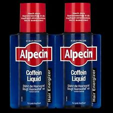 ALPECIN CAFFEINE LIQUID hair tonic 2x 200ml original high quality German product