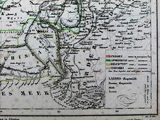 Persia Iran Turkey Afghanistan Beloochistan Tartary Asia 1844 Flemming old map