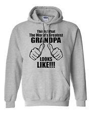 This Is What The World's Greatest Grandpa Looks Like Novelty Sweatshirt Hoodies