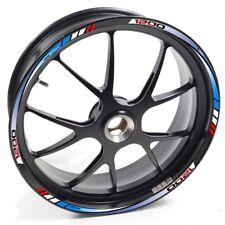 UKEN Sticker wheel Rim Aprilia Dorsoduro 1200 Red Blue strip tape vinyl adhesive