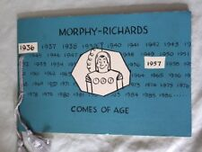 MORPHY RICHARDS COMES OF AGE 1936-1957 by BERNARD HOLLOWOOD- P/B - £3.25 UK POST