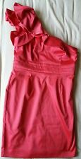 Used once one shoulder pink dress size 16