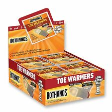 Hot Hands Toe Warmers Outdoor Sports Gear Accessories Odorless 40 Count Box