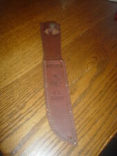 "Leather Sheath for Kabar Us Army 7"" Knife Blade (sheath only)"