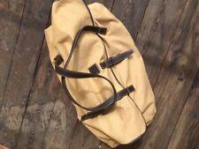 Elegante echte BRIGITTE von BOCH Reisetasche Weekendtasche mit Lederriemen