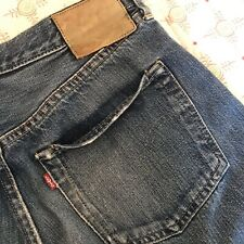 VINTAGE RARE 00s LEVI'S JEANS S501xx 1944 WW2 reproduction BIG E MADE IN USA
