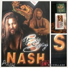 "True Vtg 1998 NWO WCW Big Sexy Kevin Nash w/Dragon Black L 42"" T-Shirt w/Tags"