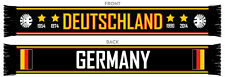 GERMANY/DEUTSCHLAND 4 STAR SCARF WORLD CUP 2018 MADE IN THE UK 100% ACRYLIC
