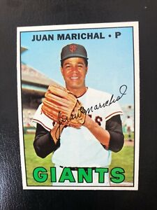 1967 Topps #500 Juan Marichal NM and Centered