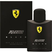 SCUDERIA FERRARI BLACK 125ML EDT SPRAY FOR MEN BY FERRARI