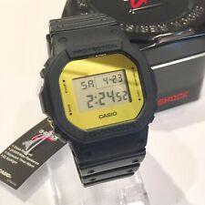 Genuine Casio G-Shock Gold Square Mens Watch 200M Digital Limited Edition Mirror
