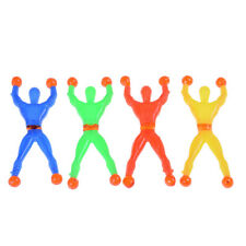 10pcs Slime Viscous Climbing Spiderman Squeeze Somersault Villain Toys   IO