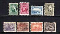 Newfoundland stamps #61 - 68, mint & used, 1897, SCV $52.25