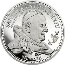 POPE JOHN PAUL II - Religious People Silver Coin Series in Box+COA - 2011 Palau