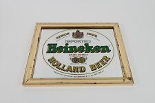 Vintage Heineken Holland Beer Since 1592 Brytone Mirror Bar Sign Advertisement