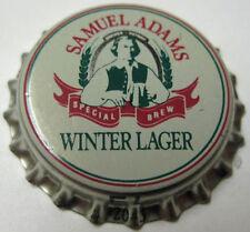 SAMUEL ADAMS WINTER LAGER unused Beer CROWN, Bottle Cap, Boston, MASSACHUSETTS