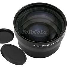 52mm 2.0x 2X TELE Telephoto Converter LENS for Nikon D7000 D3100 D5100 D5200 D90