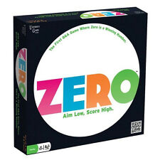 ZERO - THE FIRST Q&A GAME WHERE ZERO IS A WINNING NUMBER - UNIVERSITY GAMES 12+