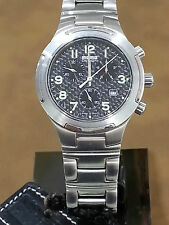 Momo Design Watch - Mens Stainless Steel Chrono - MD-017SS-06FC-CM