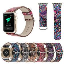 Für Apple Watch Serie1/2/3 Uhrarmband Lederarmband Armband Geschenk Atmungsaktiv