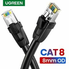 Ugreen Cat8 Ethernet Cable RJ45 Network UTP Lan Cable Cat7 RJ45 Patch Cord Lot