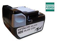 FF: BATTERIA LITIO HITACHI BSL1430 14,4V 3,0 Ah SOLO ORIGINALI NO EQUIVALENTI