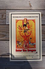 Enter the Dragon Lobby Card Movie Poster Bruce Lee