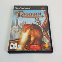 DRAKAN The Ancients Gates PS2 Playstation 2 Video Game PAL - Complete