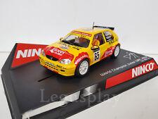 """Scx Scalextric Slot Ninco 50292 Citroen Saxo """" World Champion """" D. Solà Ltd.Ed"""