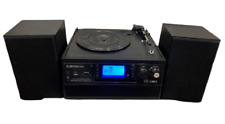 More details for digitnow bluetooth record player turntable with stereo speaker, cd,tape, sd, usb