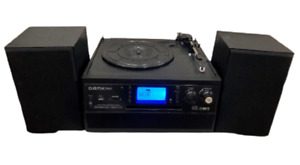 DIGITNOW Bluetooth Record Player Turntable with Stereo Speaker, CD,Tape, SD, USB