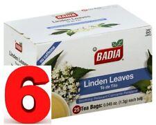 BADIA - Linden Tea (6 PACK /150 bags) - Te de Tilo (150 bolsas)