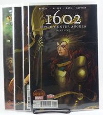 1602 Witch Hunter Angela #1 2 3 4 1st Prints NM Marvel Comics 2015 Secret Wars