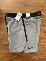 Nike Flex Tech Pack Men's Training Shorts Gunsmoke AJ8150-056 Size Large $100