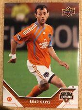 Brad Davis 2011 Upper Deck MLS Soccer Houston Dynamo