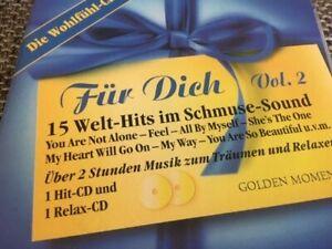 2 CD: Für Dich Vol. 2 Welt-Hits im Schmuse-Sound Tolle Hits