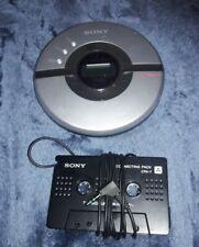 SONY WALKMAN D-EJ106CK DIGITAL MEGA BASS CD-R/RW PORTABLE CD PLAYER G PROTECTION
